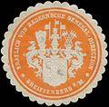 Siegelmarke Gräflich von Redernsche General-Direction W0334324.jpg
