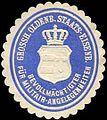 Siegelmarke Grossherzoglich Oldenburger Staats-Eisenbahn - Bevollmächtigter für Militair-Angelegenheiten W0255288.jpg