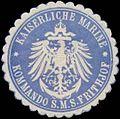 Siegelmarke K. Marine Kommando S.M.S. Frithjof W0357627.jpg