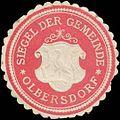Siegelmarke Siegel der Gemeinde Olbersdorf W0320651.jpg