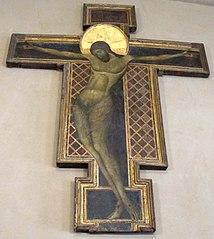 Crucifix de Duccio à Sienne