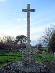 croix de cimetière d'Aillas-le-Vieux
