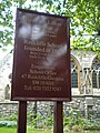 Sign, Redcliffe School, Redcliffe Gardens SW10 - geograph.org.uk - 1908497.jpg