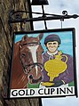 Sign for the Gold Cup Inn - geograph.org.uk - 517137.jpg