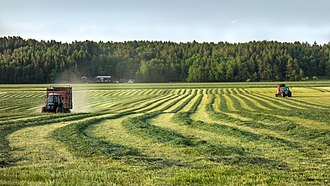 Agriculture in Sweden - Silage in southern Sweden
