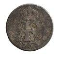 Silvermynt från Svenska Pommern, 1-48 riksdaler, 1763 - Skoklosters slott - 109168.tif