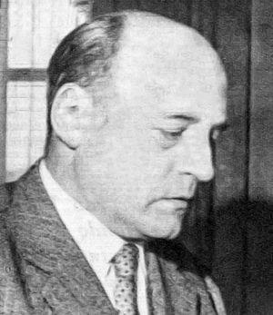 Silvio Negro - Silvio Negro in Radiocorriere magazine, 1958.