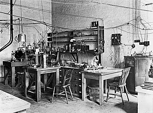 James Chadwick - Sir Ernest Rutherford's laboratory