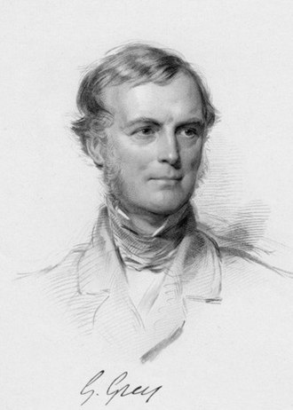 Secretary of State for the Colonies - Image: Sir George Grey, 2nd Bt