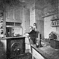 Sir William Crooks in his laboratory. Wellcome M0004618.jpg