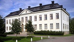Skinnskatteberg - Image: Skinnskatteberg herrgard 1