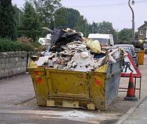 Skip containing rubbish 16s06.jpg