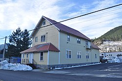 Skykomish, WA - Masonic lodge 02.jpg