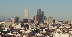 Skyscrapers in Madrid.JPG