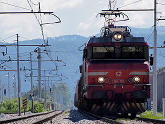 Slovenian Railways - Freight train SŽ 363-002