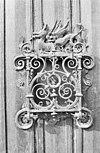 smeedwerk op deur - laag-caestert - 20072861 - rce