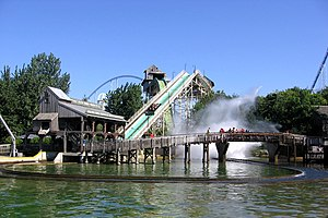 Shoot the Chute - Snake River Falls at Cedar Point, Sandusky, Ohio