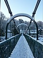 Snow on the Suspension Footbridge (1) - geograph.org.uk - 1690179.jpg