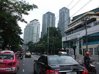 Thong Lo street in Bangkok
