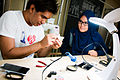 Soldering workshop in the Prototyping Lab, National Design Centre, Singapore - 20141201-04.jpg