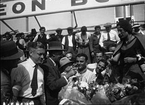 1932 24 Hours of Le Mans - Winners Raymond Sommer and Luigi Chinetti