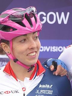 Sophie Wright (cyclist) British cyclist