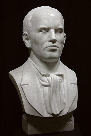 Ivan Soshenko - Portrait of Soshenko I.M. (sculptor Nicolai Shmatko)