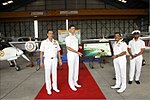Southern Naval Command inducts Microlight aircraft Garud (2).jpg