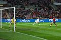 Spain - Chile - 10-09-2013 - Geneva - Victor Valdes, Mauricio Isla and Ignacio Monreal 1.jpg