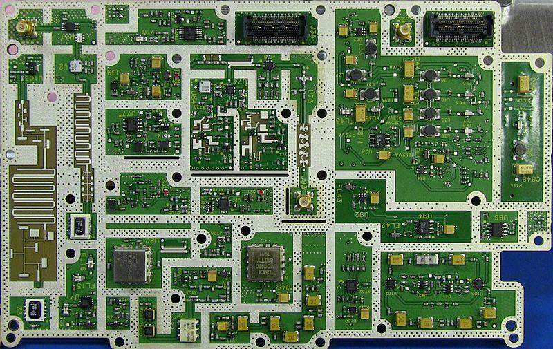 File:Spectrum Analyser PCB.jpg