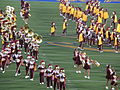 Spirit of Troy performing at halftime at USC at Cal 2009-10-03 3.JPG