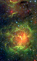 Spitzer IRAC+MIPS View of the Trifid Nebula.jpg