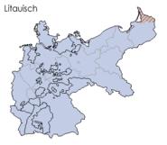 Sprachen deutsches reich 1900 litauisch