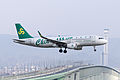 Spring Airlines, 9C8527, Airbus A320-214, B-9965, Arrived from Jinjiang, Kansai Airport (17000492680).jpg