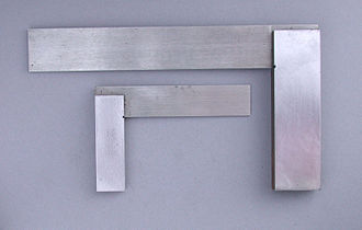 Machinist square - Two typical engineer's squares