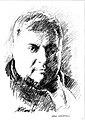 Srba Ignjatović, drawing of Momčilo Golubović.jpg
