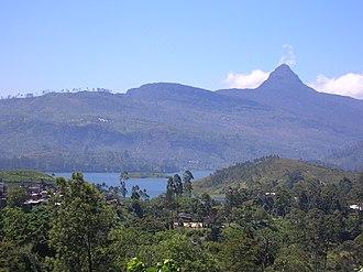 Central Highlands of Sri Lanka - Peak Wilderness encompasses the Adam's Peak