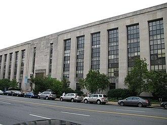 Wilbur J. Cohen Federal Building - Image: Ssa bldg north