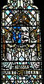 St.David's Cathedral - Thomas Becket-Kapelle 5 Fenster Becket Wappen.jpg