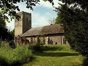 Winston, Suffolk - Image: St. Andrew's church, Winston, Suffolk geograph.org.uk 186607
