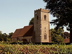 St. John's church, Great Wenham, Suffolk - geograph.org.uk - 213446.jpg