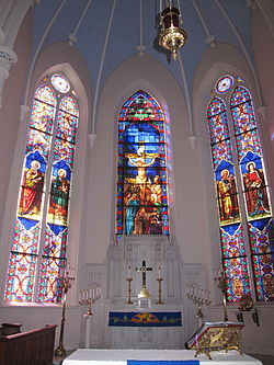 meaning of chancel