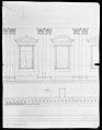 St. Peter's, drum, interior, elevation (recto) St. Peter's, drum, pedestal, section (verso) MET MM31809.jpg