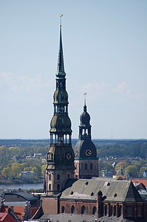 Church in Riga, Latvia