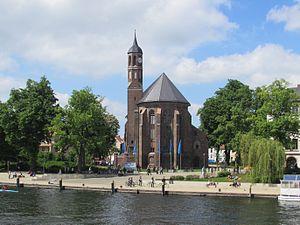 ehemalige kirche st. johannis in Brandenburg an der Havel