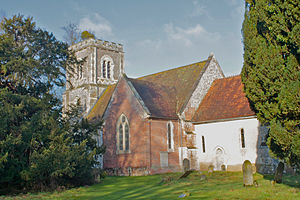 Hurstbourne Priors - Image: St Andrews Parish Church, Hurstbourne Priors, Hampshire, UK