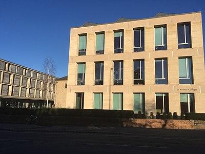 St Anne S College Oxford Wikipedia
