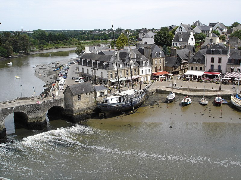 Saint Goustan port - Auray