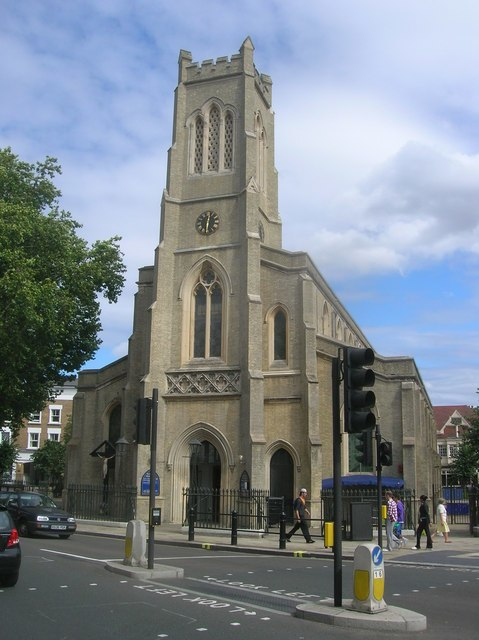 St John's Church, North End Road SW6 - geograph.org.uk - 1459602