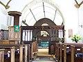 St Lawrence Church, Stratford-sub-Castle - Interior - geograph.org.uk - 513048.jpg